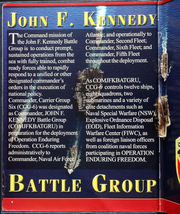 Page 12, 2002 Edition, John F Kennedy (CV 67) - Naval Cruise Book online yearbook collection