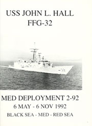 Page 5, 1992 Edition, John Hall (FFG 32) - Naval Cruise Book online yearbook collection