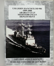 Page 5, 2000 Edition, John Hancock (DD 981) - Naval Cruise Book online yearbook collection