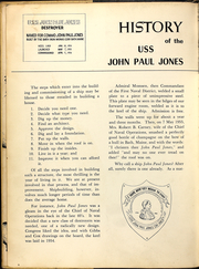 Page 10, 1956 Edition, John Paul Jones (DDG 32) - Naval Cruise Book online yearbook collection