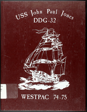 Page 1, 1975 Edition, John Paul Jones (DDG 32) - Naval Cruise Book online yearbook collection
