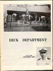 Page 11, 1968 Edition, Estes (AGC 12) - Naval Cruise Book online yearbook collection