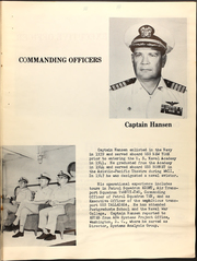 Page 9, 1968 Edition, Estes (AGC 12) - Naval Cruise Book online yearbook collection