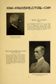 Page 11, 1915 Edition, Colorado School of Mines - Prospector Yearbook (Golden, CO) online yearbook collection