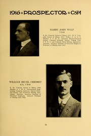 Page 17, 1915 Edition, Colorado School of Mines - Prospector Yearbook (Golden, CO) online yearbook collection