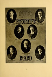 Page 9, 1915 Edition, Colorado School of Mines - Prospector Yearbook (Golden, CO) online yearbook collection