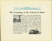 Page 12, 1930 Edition, Colorado School of Mines - Prospector Yearbook (Golden, CO) online yearbook collection