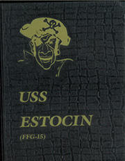 1985 Edition, Estocin (FFG 15) - Naval Cruise Book