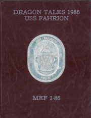 1986 Edition, Fahrion (FFG 22) - Naval Cruise Book