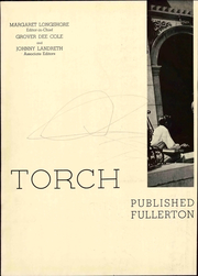Page 7, 1937 Edition, Fullerton Junior College - Torch Yearbook (Fullerton, CA) online yearbook collection