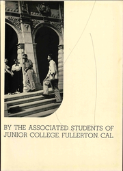 Page 9, 1937 Edition, Fullerton Junior College - Torch Yearbook (Fullerton, CA) online yearbook collection