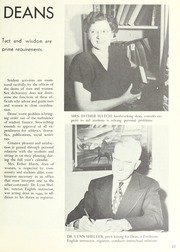 Page 21, 1949 Edition, Fullerton Junior College - Torch Yearbook (Fullerton, CA) online yearbook collection