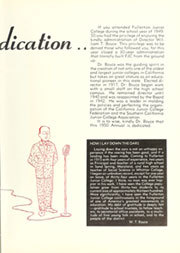 Page 9, 1950 Edition, Fullerton Junior College - Torch Yearbook (Fullerton, CA) online yearbook collection