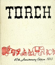 1953 Edition, Fullerton Junior College - Torch Yearbook (Fullerton, CA)