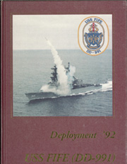 Page 1, 1992 Edition, Fife (DD 991) - Naval Cruise Book online yearbook collection