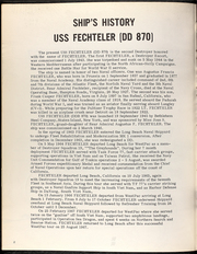 Page 6, 1967 Edition, Fechteler (DD 870) - Naval Cruise Book online yearbook collection
