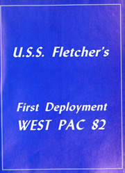 Page 5, 1982 Edition, Fletcher (DD 992) - Naval Cruise Book online yearbook collection