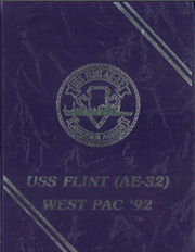 Page 1, 1992 Edition, Flint (AE 32) - Naval Cruise Book online yearbook collection