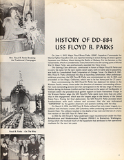 Page 7, 1973 Edition, Floyd Parks (DD 884) - Naval Cruise Book online yearbook collection