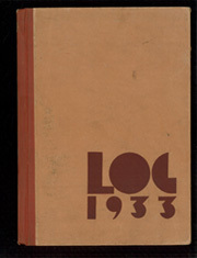1933 Edition, Glendale Junior College - La Reata Yearbook (Glendale, CA)