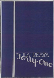 1941 Edition, Glendale Junior College - La Reata Yearbook (Glendale, CA)