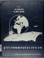 Page 1, 1957 Edition, Forrestal (CVA 59) - Naval Cruise Book online yearbook collection