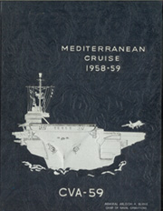1959 Edition, Forrestal (CVA 59) - Naval Cruise Book