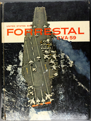 Forrestal (CVA 59) - Naval Cruise Book online yearbook collection, 1961 Edition, Page 1