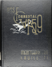 1971 Edition, Forrestal (CVA 59) - Naval Cruise Book