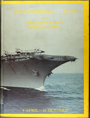 Forrestal (CVA 59) - Naval Cruise Book online yearbook collection, 1978 Edition, Page 1
