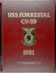 Forrestal (CVA 59) - Naval Cruise Book online yearbook collection, 1981 Edition, Page 1