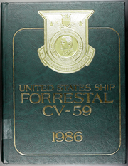 1986 Edition, Forrestal (CVA 59) - Naval Cruise Book