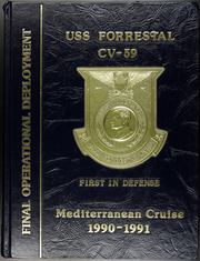 1991 Edition, Forrestal (CVA 59) - Naval Cruise Book