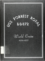 Forrest Royal (DD 872) - Naval Cruise Book online yearbook collection, 1955 Edition, Page 1
