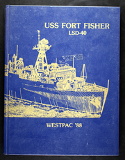 Fort Fisher (LSD 40) - Naval Cruise Book online yearbook collection, 1988 Edition, Page 1