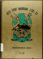 1963 Edition, Fort Mandan (LSD 21) - Naval Cruise Book