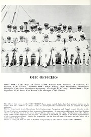 Page 10, 1964 Edition, Fort Marion (LSD 22) - Naval Cruise Book online yearbook collection