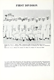 Page 12, 1964 Edition, Fort Marion (LSD 22) - Naval Cruise Book online yearbook collection