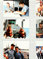 Page 16, 1985 Edition, Fox (CG 33) - Naval Cruise Book online yearbook collection
