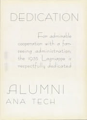 Page 11, 1935 Edition, Louisiana Polytechnic Institute - Lagniappe Yearbook (Ruston, LA) online yearbook collection