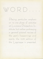 Page 9, 1935 Edition, Louisiana Polytechnic Institute - Lagniappe Yearbook (Ruston, LA) online yearbook collection