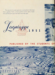 Page 6, 1951 Edition, Louisiana Polytechnic Institute - Lagniappe Yearbook (Ruston, LA) online yearbook collection