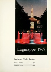 Page 5, 1969 Edition, Louisiana Polytechnic Institute - Lagniappe Yearbook (Ruston, LA) online yearbook collection