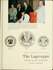 Page 5, 1971 Edition, Louisiana Polytechnic Institute - Lagniappe Yearbook (Ruston, LA) online yearbook collection
