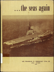 Franklin D Roosevelt (CVA 42) - Naval Cruise Book online yearbook collection, 1956 Edition, Page 1