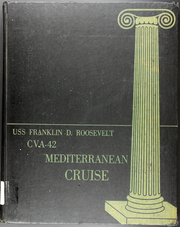 Franklin D Roosevelt (CVA 42) - Naval Cruise Book online yearbook collection, 1958 Edition, Page 1