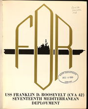 Page 5, 1968 Edition, Franklin D Roosevelt (CVA 42) - Naval Cruise Book online yearbook collection