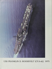 Page 12, 1975 Edition, Franklin D Roosevelt (CV 42) - Naval Cruise Book online yearbook collection
