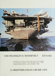 Page 5, 1975 Edition, Franklin D Roosevelt (CV 42) - Naval Cruise Book online yearbook collection