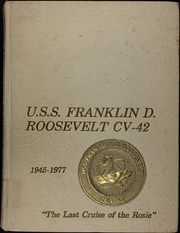 Page 1, 1977 Edition, Franklin D Roosevelt (CV 42) - Naval Cruise Book online yearbook collection